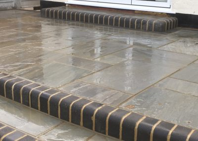West yorkshire Indian stone deck