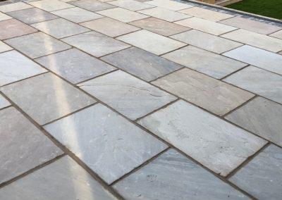 Block paving deck West Yorkshire