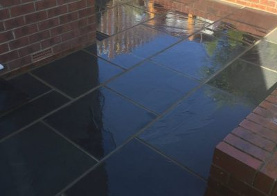 Patio done by Halifax Block Paving