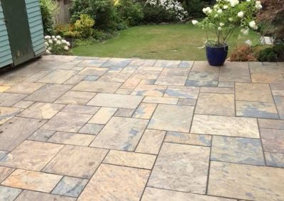 Patio done by Halifax Block Paving11